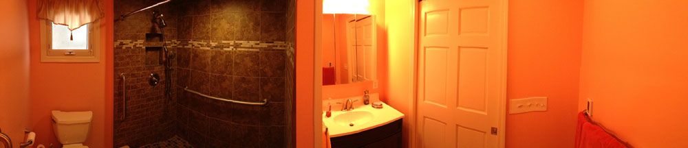 Panoramic Bathroom View