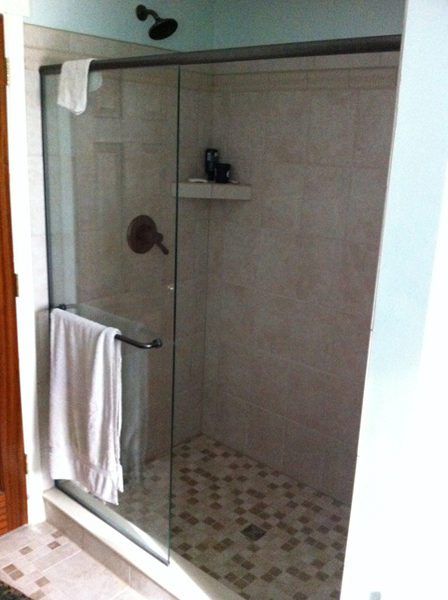 Tile Shower Upgrade